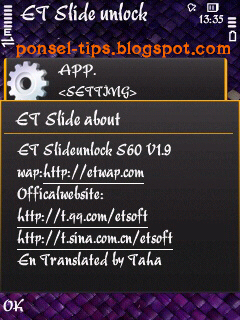 ET Slide Unlock V1.9 S60v3-S60v5-S^3 Unsigned EN