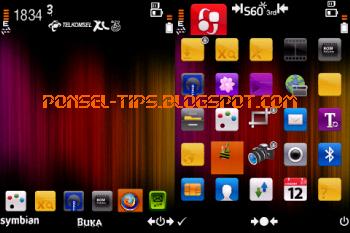 Warna Tiga (Orange),