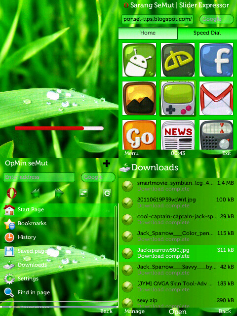opera mini 7 java zip